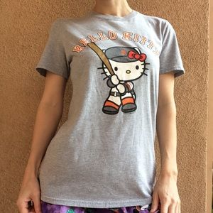 G I A N T S SF Giants Baseball Hello Kitty Tee